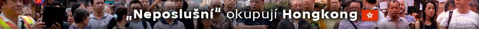 """""""Neposlušní"""" okupují Hongkong"""