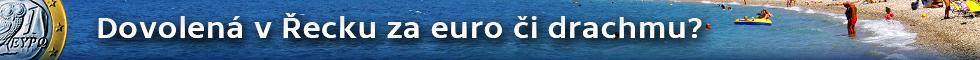 Dovolená v Řecku za euro či drachmu