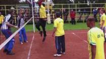 Turnaj postižených sportovců v přehazované