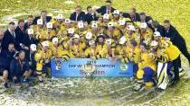 Kralování Švédska pokračuje. Výhru nad Švýcary a zlato trefil v nájezdech Forsberg