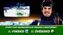 Soutěž k MS v biatlonu - Fredrik Lindström
