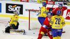 Češi porazili na úvod domácího turnaje Švédsko 5:3, radovalo se i Finsko