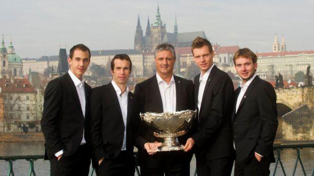 Daviscupový tým získal za salátovou místu Zlatého kanára