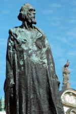 Šalounův pomník mistra Jana Husa na Star…