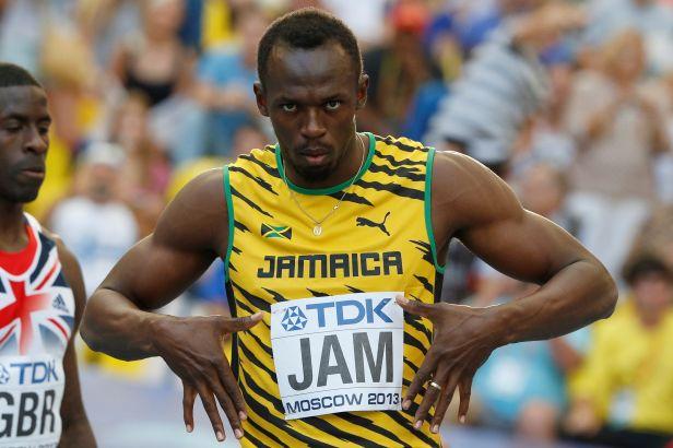 Bolt je zlatý i se štafetou, Masná doběhla osmá