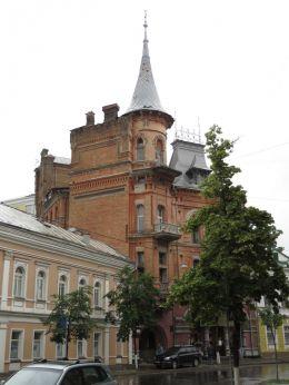 Dům barona - sídlo nové české ambasády v Kyjevě?