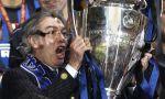 Massimo Moratti s trofejí pro vítěze Ligy mistrů
