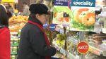 Nakupování v supermarketu