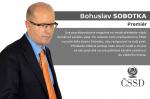 Bohuslav Sobotka – premiér