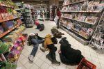 Protest proti ruskému zboží