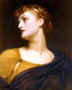 Barokní obraz Antigoné od Frederica Leightona