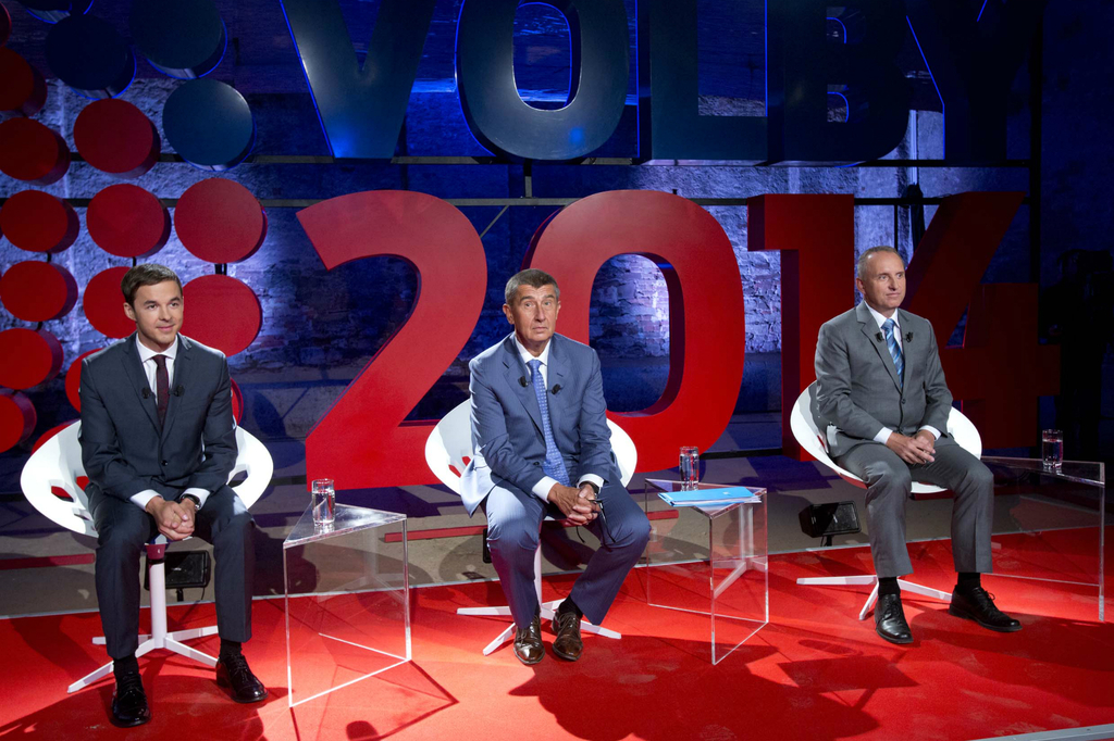 Předvolební debata – Babiš a Fuchs