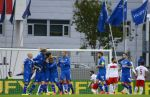 Radost hráčů Islandu