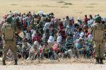Syrští Kurdové u tureckých hranic