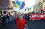 Jsme pro mír, skandují demonstranti v Moskvě
