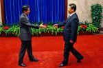 Šinzó Abe a Si Ťin-pching
