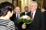 Návštěva prezidenta Miloše Zemana na jižní Moravě