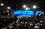Výroční tisková konference ruského prezidenta Vlad…