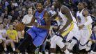 Oklahom� se zranil Durant a nesta�ila na Golden State