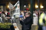 Demonstrace odniže hnutí Pegida v Malmö