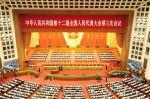 Výročního zasedání čínského parlamentu