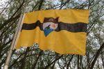 Vlajka samozvaného státu Liberland