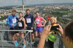 Běžci vyběhli na brněnskou AZ Tower