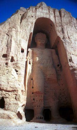 Socha Buddhy v Bámjánu