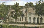 Jánské Koupele na historické pohlednici