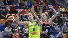 Basketbalistky USK vydřely na úvod Euroligy výhru nad Bourges