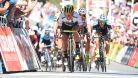 Ewan přespurtoval Sagana a po výhře se dostal do čela průběžného pořadí