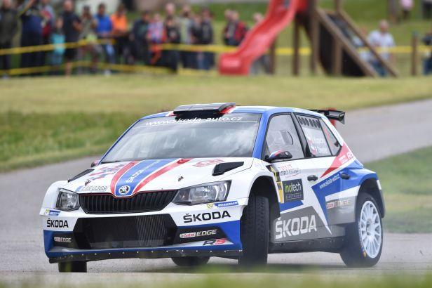 První den Rallye Český Krumlov vyšel nejlépe Kopeckému