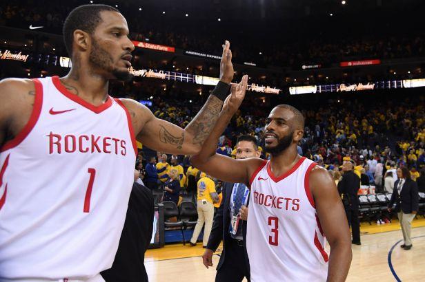 Houston se oklepal z debaklu a ukončil vítěznou sérii Warriors