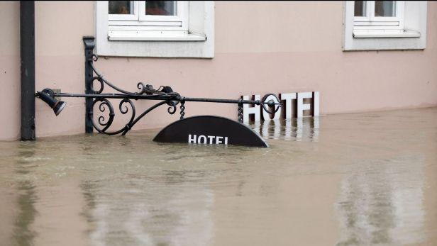 Dunaj v pasově dál roste situace v rakousku je katastrofální