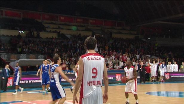 Report� z basketbalov�ho Eurocupu: Nymburk - Cant�