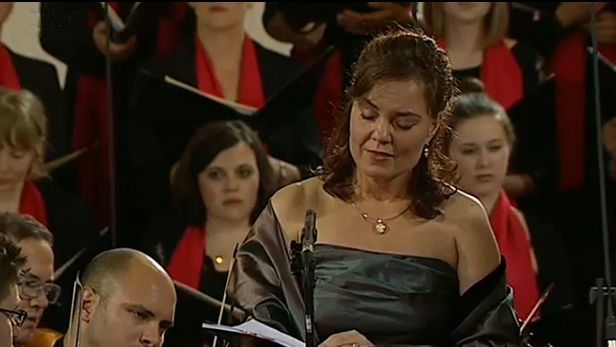 Martina Jankov� zp�vala na Svatov�clavsk�m festivalu ohromen�