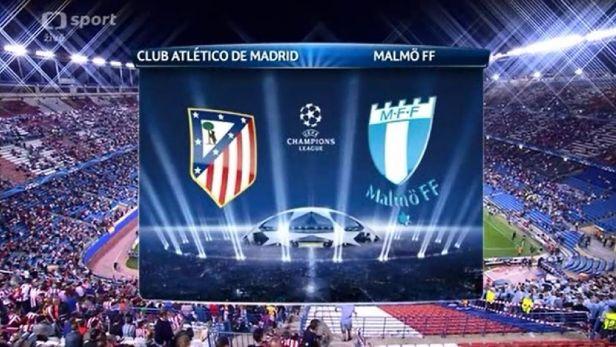 Sest�ih utk�n� Atl�tico Madrid - Malm�