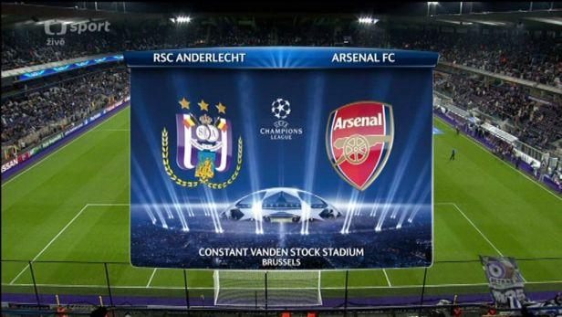 Sest�ih utk�n� Anderlecht - Arsenal