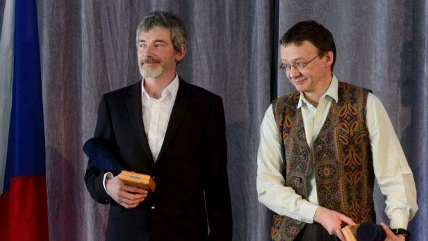 Horolezci B�l�k a Auerm�ller obdr�eli evropskou cenu fair play