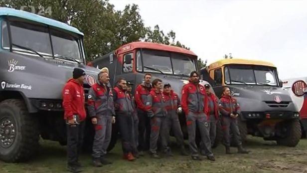 Tatra na Dakaru chyb�t nebude. Do Ji�n� Ameriky s n� vyraz� Vr�tn�