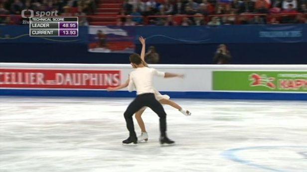 Tance ovl�dli Papadakisov� s Cizeronem