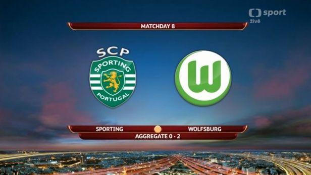 Sest�ih utk�n� Sporting Lisabon - FC Wolfsburg