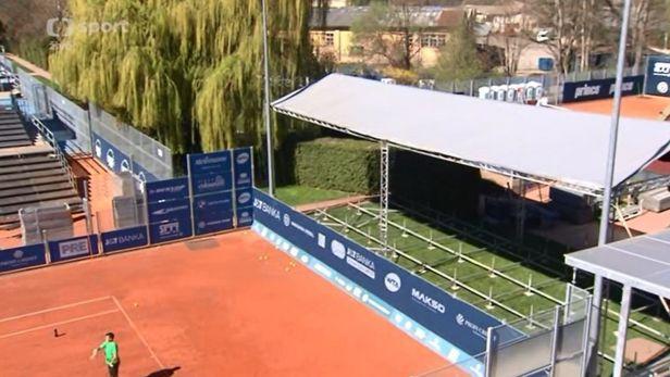 Kurty na Spart� se p�ipravuj� na bl��c� se Prague Open
