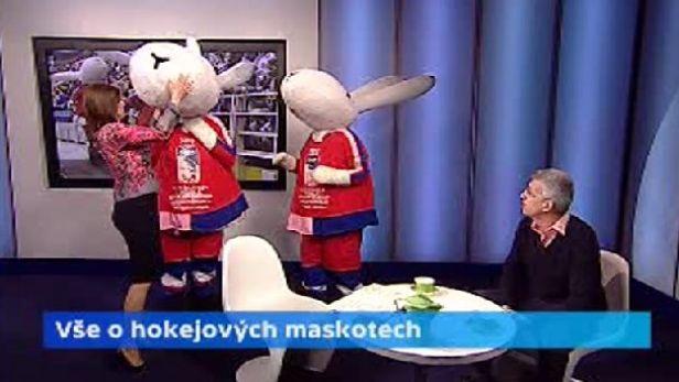 Bob a Bobek - hokejov� maskoti MS