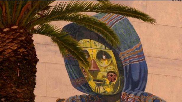 Maroko p�ich�z� na chu� street artu