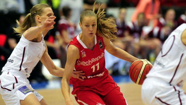 Sest�ih basketbalov�ho utk�n� �esko - Loty�sko