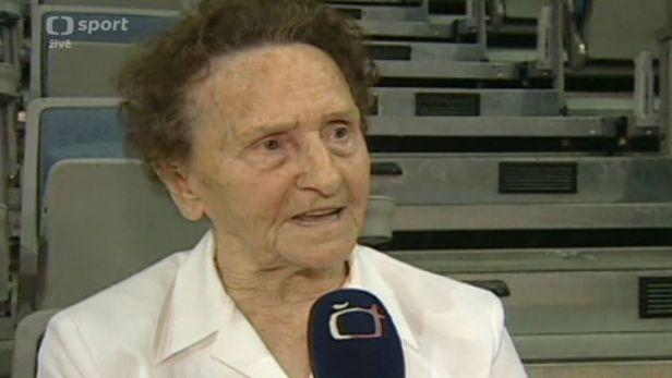 V 93 letech zem�ela gymnastka Miloslava �amkov�-Mis�kov�