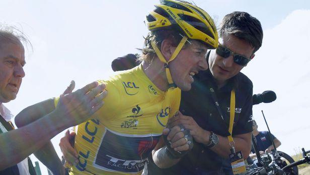 Sest�ih 3. etapy Tour de France 2015