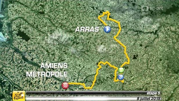 P�edstaven� 5. etapy Tour de France 2015