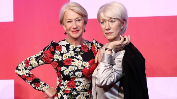Madame Tussaud jedna Helen Mirrenov� nesta��